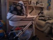 3-1 babystyle pram/pushchair