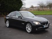 2009 bmw 2009 BMW 7 SERIES 730D SE AUTO BLACK  LUXURY EDITI