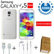 Get Refurbished Like New Samsung Galaxy S5 16GB White Unlocked UK